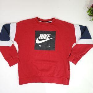 Nike Kids Crew Neck Pull Over Sweatshirt Size L